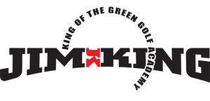 Jim King - King of the Green Golf Academy logo